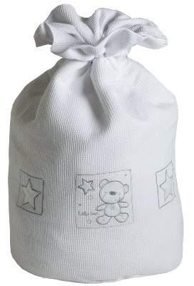 Baby Elegance Star Ted Laundry Bag (White)
