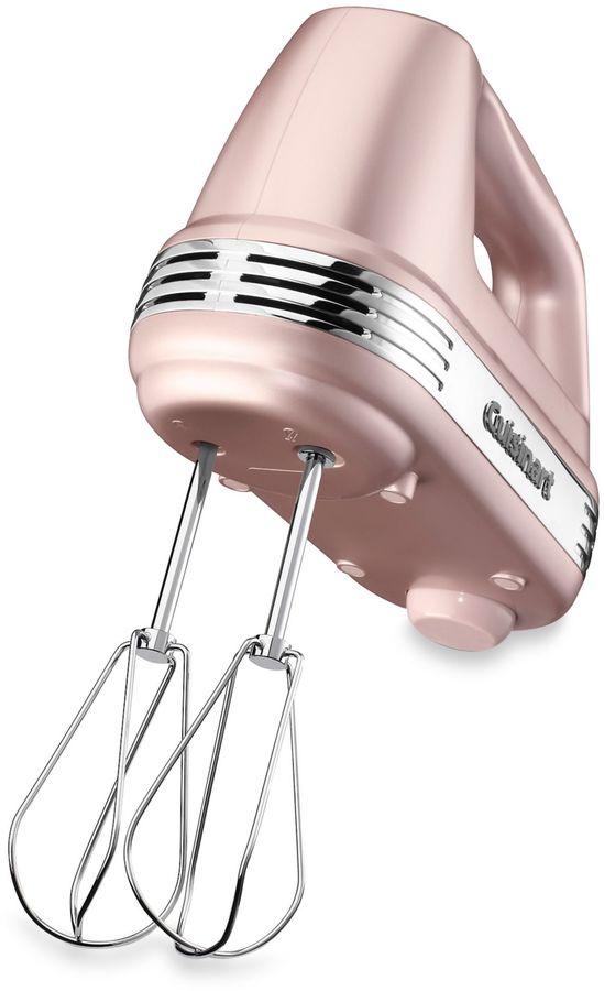 Cuisinart Power AdvantageTM 5-Speed Hand Mixer in Pink Champagne