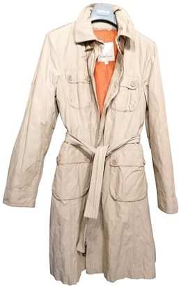 Henry Cotton Beige Cotton Trench Coat for Women