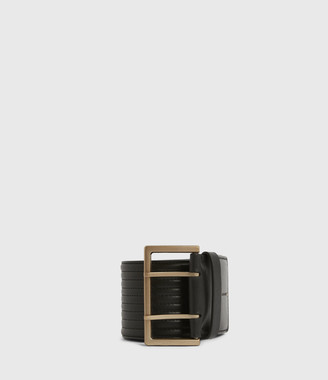 AllSaints Willow Wide Leather Belt