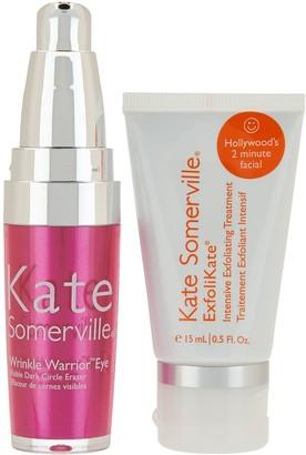 Kate Somerville Wrinkle Warrior Eye Gel & Exfolikate Mini Auto-Delivery