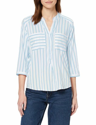 Vero Moda Women's Vmerika Stripe 3/4 Shirt Top E10 Noos Blouse