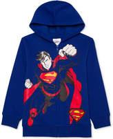 Superman Dc Comics Print Sound Hoodie, Big Boys