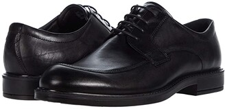 Ecco Vitrus III Apron Toe Tie (Black) Men's Shoes