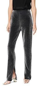 Habitual Sarai Shimmer Slit Hem Pants