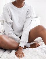 aerie Ruffle Sweatshirt