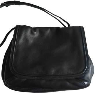 Dries Van Noten Black Leather Handbags