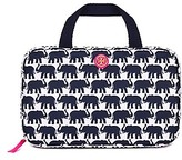 Tory Burch Printed Nylon Hanging Cosmetic Case