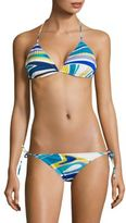 Emilio Pucci Two-Piece Jersey Knit Bikini