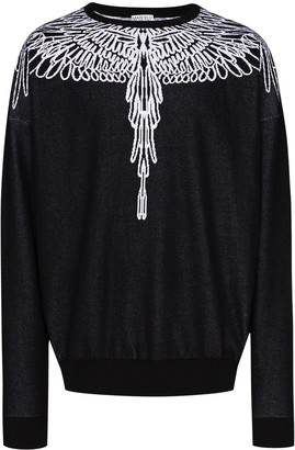 Marcelo Burlon County of Milan Pictorial Wings print sweatshirt