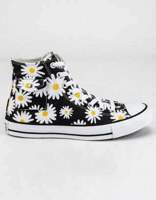 Converse Sunflower Pocket Chuck Taylor All Star Womens High Top Shoes