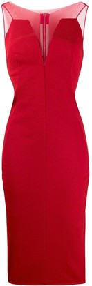 Rick Owens Mesh-Panelled Dress