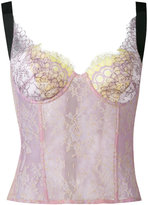 Natasha Zinko lace corset top - women - Cotton/Nylon/Polyamide/Polyester - 32