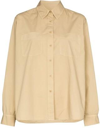 Nili Lotan Kelsey button-up shirt