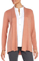 Eileen Fisher Petite Open Front Cardigan