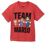 JEM Nintendo Team Mario Tee (Toddler & Little Boys)