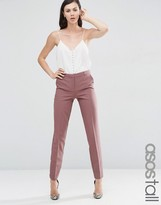 ASOS Tall ASOS TALL Slim Tailored Cigarette Pant