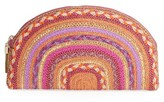Eric Javits Croissant Clutch - Pink