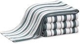 Williams-Sonoma Williams Sonoma Stripe Towels, Set of 4, French Blue