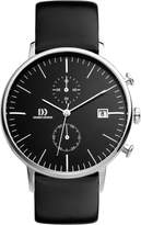 Danish Design Men's Quartz Watch with Dial Chronograph Display and Leather Strap DZ120140