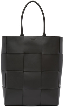 Bottega Veneta Grey Leather Urban Tote