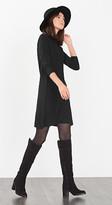 Esprit OUTLET fine-knit turtleneck dress