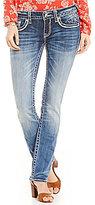 Vigoss Jeans Vigoss Dublin Straight-Leg Stretch Denim Jeans