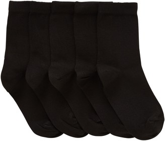 John Lewis & Partners Children's Cotton Rich Socks, Pack of 5