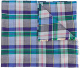 Etro plaid print scarf - men - Silk/Cashmere - One Size