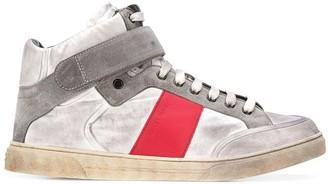 Saint Laurent Max hi-top sneakers