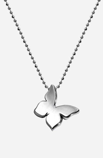 Alex Woo 'Little Princess' Butterfly Pendant Necklace
