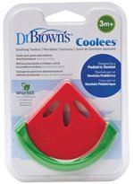 Dr Browns Dr. Brown's Natural Flow Coolees Watermelon Soothing Teether_Green; Red