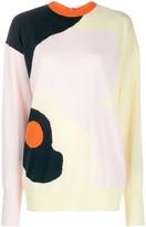 Roksanda abstract print jumper