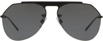 Dolce & Gabbana Eyewear Aviator Tinted Sunglasses