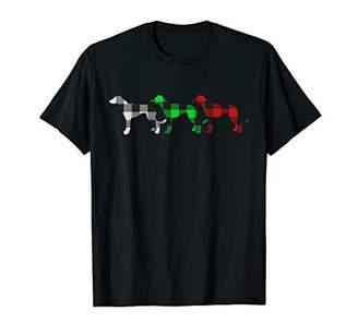 Buffalo David Bitton Plaid Greyhound Funny Xmas Gift This is My Christmas T-Shirt