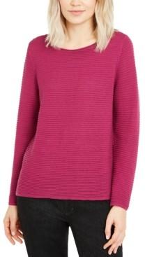 Eileen Fisher Ottoman-Rib Sweater