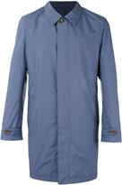 Canali reversible trench coat - men - Lamb Skin/Polyester - 54