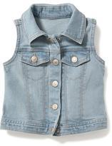 Old Navy Denim Vest for Toddler Girls