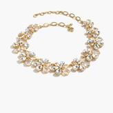 J.Crew Magnolia crystal necklace