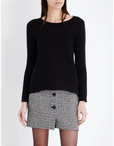 Claudie Pierlot Mimi Embellished Knitted Jumper