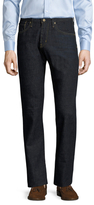 AG Adriano Goldschmied Matchbox Buttoned Slim Jeans