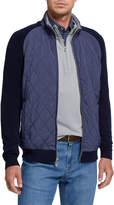Peter Millar Men's Crown Elite Zip-Front Jacket