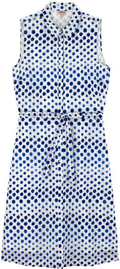 Cath Kidston Ombre Spot Sleeveless Dress