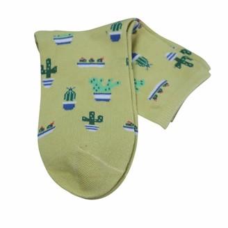 Women Cactus Print Socks URIBAKY Fashion Casual Thicke Warm Socks