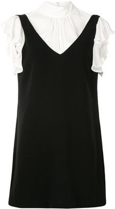 Cinq à Sept Rei layered mini dress