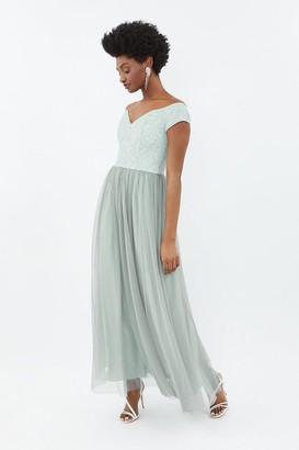 Coast Embroidered Full Midi Dress