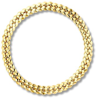Pragnell 18kt yellow gold Cuba small chain necklace
