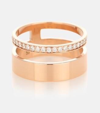 Repossi Berbere Module 18kt rose-gold and diamond ring