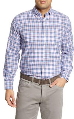 Peter Millar Tamarama Plaid Regular Fit Shirt
