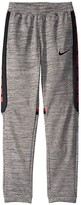 Nike Therma Elite Pants (Little Kids/Big Kids) (Gunsmoke/Heather/Black) Boy's Casual Pants